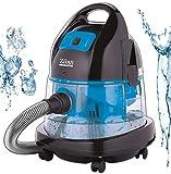 Staubsauger | Wassersauger | 2.000 Watt | Wasser Staubsauger | Bodenstaubsauger | Staubsauger mit Wasserfilter | Für Innen- und Außenreinigung | Softanlauf-Funktion | Mit oder ohne Beutel