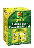 COMPO Rasen Unkrautvernichter Perfekt, Vernichtung von schwerbekämpfbaren Unkräutern, Konzentrat, 200 ml (200m²)