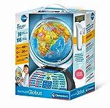 Clementoni 59184 Galileo Science – Digitaler Globus, sprechende Weltkugel mit interessanten Fakten, Infos zum Wetter & Ortszeit, Lernspielzeug für Kinder ab 7 Jahren zu Weihnachten