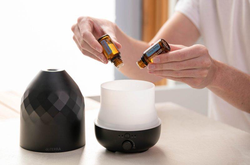 Diffuser in den Aroma Öle hineingegeben werden