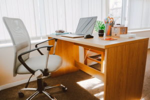 Ergonomischer Stuhl im Büro