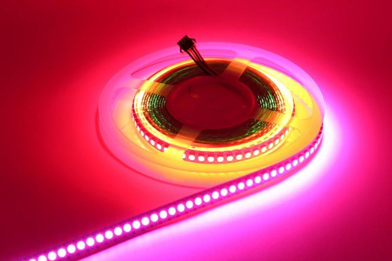 LED Streifen pinke Farbe