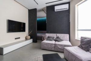 Klimaanlage für Zuhause im Wohnzimmer
