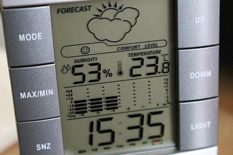 Wetterstation mit Außensensor im Test