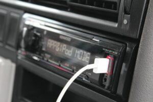 DAB+ Autoradio in Gebrauch