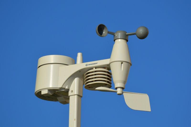 Funkwetterstation Test Windmesser