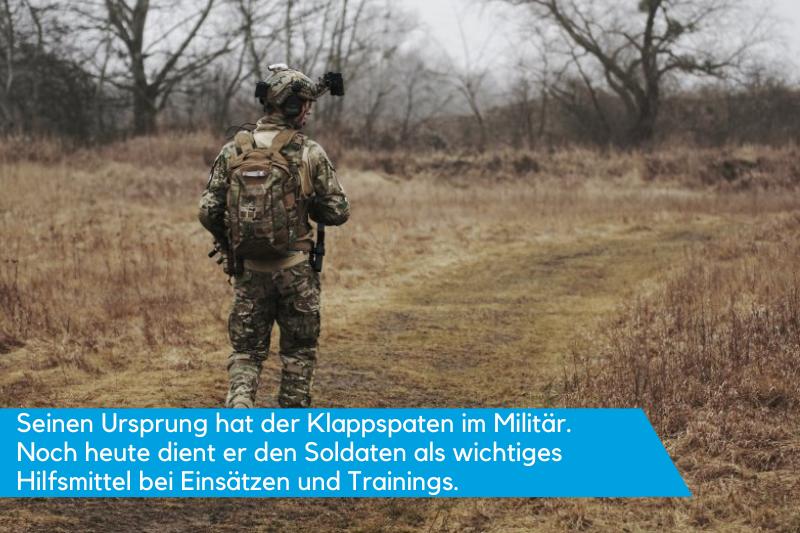 Klappspaten Bundeswehr