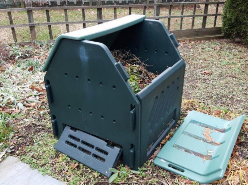 Thermokomposter aus Plastik