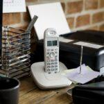 Festnetztelefon im Büro