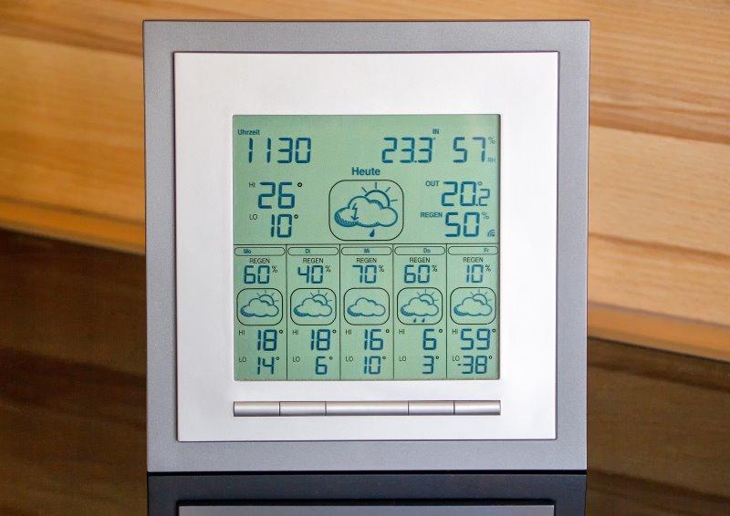 Funkwetterstation Test Wettertrend