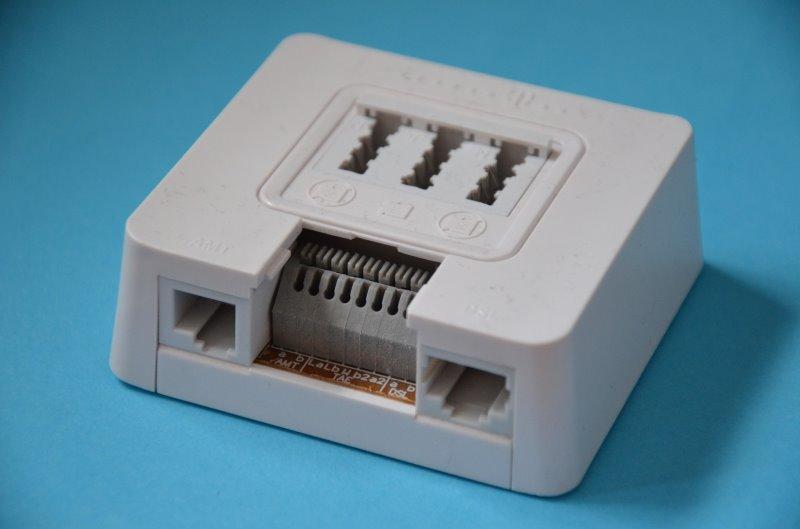 TAE-Stecker für die Internetleitung