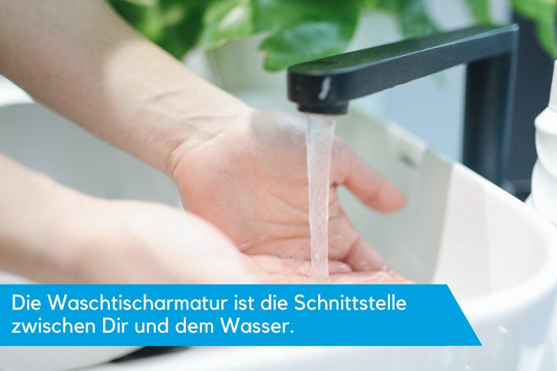 Waschtischarmatur Haendewaschen