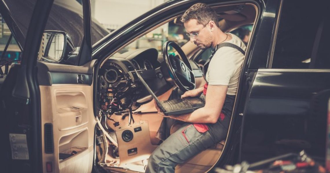 Diagnose am Fahrzeug