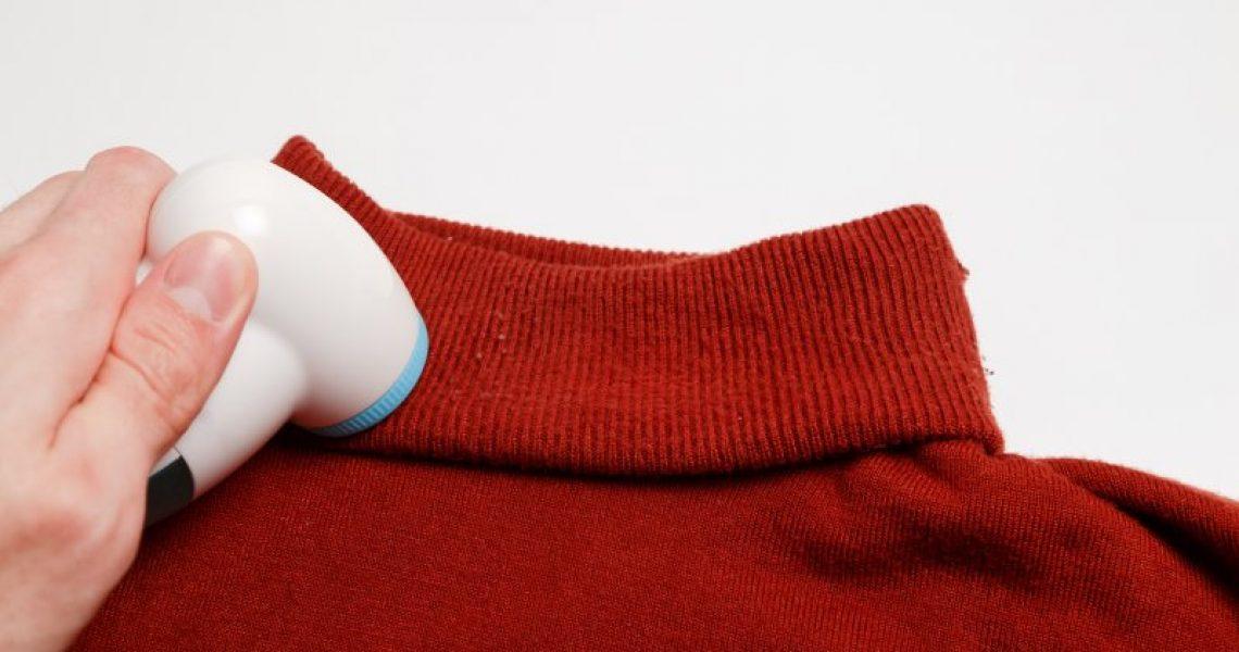 Die ultimative Hilfe gegen Fusseln: der Fusselrasierer